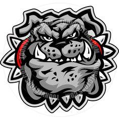 Mean Bulldog Cartoon images