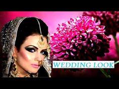Fantastic Bridal Look, Heavy Wedding Dress, Hairstyling Asian Bridal Makeup