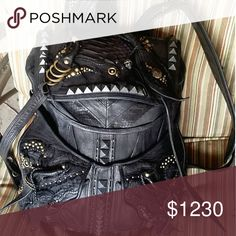 3859752832c5 Gothic Genuine Leather Backpack check out my depop.com/mousylittle for a  lower price