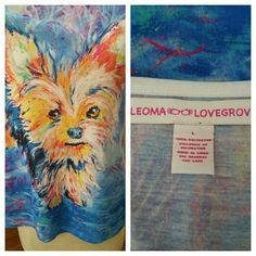 Colorful Terrier Tee by Artist Leoma Lovegrove Colorful Terrier Tee by Artist Leoma Lovegrove in EUC with no flaws. Fun vibrant colors and adorable Terrier pup, perfect for putting pep in your step with Spring around the corner. Measurements to come... Located in Poshmark closet @taylord2covet. Leoma Lovegrove  Tops Tees - Short Sleeve