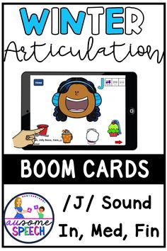 No Print, No Prep, Digital Resource! This is a file that contains a link to an interactive game on Boom Learning. Your kids will have a blast feeding Winter characters (Snowman, Kids with winter clothes, Penguin, Polar Bear, Moose, and Yeti) and uncovering target words. Watch the winter items disappear as you feed the characters. Say each hidden word 5 times and reach 100 targets by the end of each word position! This game targets initial /J/, medial /J/, and final /J/.