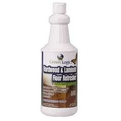 Hardwood Laminate Floor Refresher Green Logic your floor's gloss and durability. Home Improvement Grants, Floor Care, Laminate Flooring, Cleaning Supplies, Hardwood, Create, Natural Wood, Floating Floor, Cleaning Agent