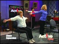 ▶ Active Aging 2 Senior Yoga - YouTube