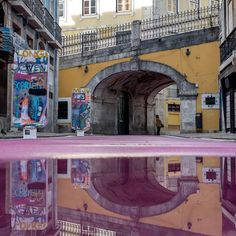 ★ Cheerful Rainbow Colors ★ Stunning Puddle Reflections Add Magic to Everyday Scenes by photographer Daniel Antunes (10 pictures) https://www.facebook.com/AmazingFactsandNature1/posts/1080853701930988
