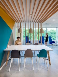 Creating space within an open space