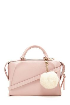 Pom Pom Faux Leather Satchel #F21HolidayContest