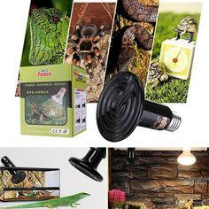 1 piece 50W White Black Infrared Ceramic Emitter Heat Light Lamp Bulb Tortoises Lizards Spiders Snakes Insulation Pet Brooder S2