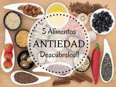 5 Alimentos antienvejecimiento