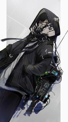 Cyborg Anime, Cyberpunk Anime, Cyberpunk Character, Cyberpunk Art, Cyberpunk Tattoo, Cyberpunk Fashion, First Animation, Animation Film, Character Inspiration