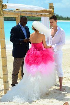 Sandals Real Wedding: Diana and Alexander's Free-Spirited Beach Wedding - Sandals Wedding Blog