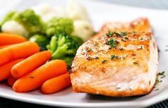 Healthy dinner - Salmon with Caper Sauce - CoachingWill.com