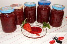 Jahodová marmeláda / džem - bez konzervantů Salsa, Jar, Food, Mascarpone, Syrup, Essen, Salsa Music, Meals, Yemek