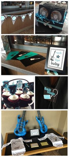 Rock-a-Bye #Baby Shower Theme for Boys - so cute! Would be perfect if my brother decides to have a baby!