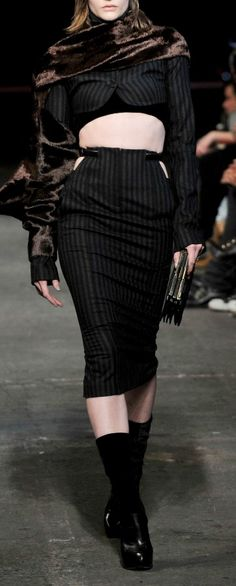 Suit recon inspiration from Alexander Wang FW2010