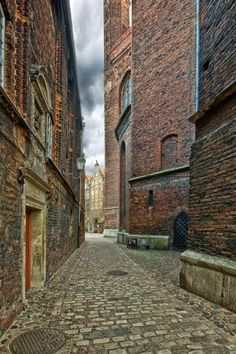Places Around The World, Around The Worlds, Gdansk Poland, Wish You Are Here, Brickwork, Krakow, Abandoned Buildings, The Good Place, Places To Go