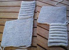 Crochet baby 350506783482472833 - Tricot Layette – Chaussons citrouille ou hollandais Source by Elennbzh