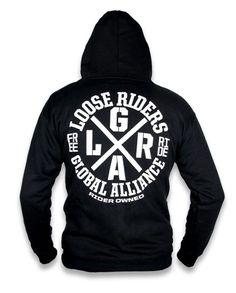 Loose Riders Herren ALLIANCE Kapuzenpullover.Tattoo,Biker,Rockabilly Style