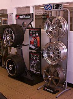 tire display   Tire and Wheel Display - South Coast Subaru   Flickr - Photo Sharing!