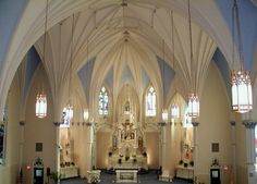 Small Catholic Churches | St. James Catholic Church Sanctuary