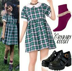Welcome to Cry Baby Closet, the first and best source for Melanie Martinez& style. Melanie Martinez Style, Melanie Martinez Outfits, Outfits Inspiration, Style Inspiration, Estilo Geek, Dolly Dress, Estilo Lolita, Cool Outfits, Fashion Outfits