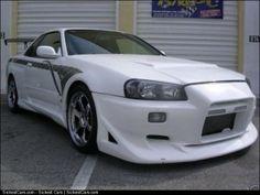1999 Nissan Skyline GTR34  - http://sickestcars.com/2013/06/10/1999-nissan-skyline-gtr34/
