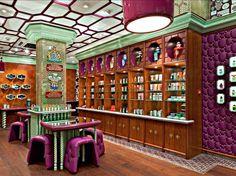 Perfumería Penhaligon's en Londres diseñado por Christopher Jenner  #interiorismo #decoracion #shop #diseño