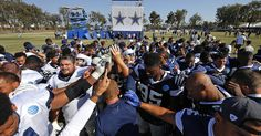 – The Cowboys are returning home after a three-week training camp… Dallas Cowboys News, Jason Garrett, Team S, Football Team, Training, Camping, Campsite, Football Squads, Work Outs