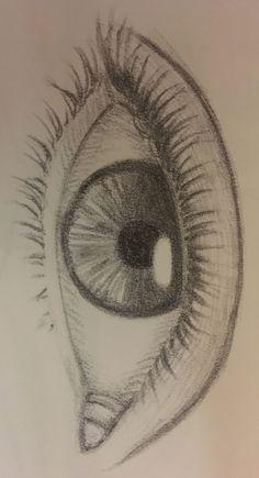Art Sketchbook Inspiration Pencil – Art World 20 Art Drawings Sketches Simple, Pencil Art Drawings, Sketch Art, Easy Drawings, Easy People Drawings, Girl Sketch, Beautiful Drawings, Sketch Of An Eye, Sketches Of Eyes