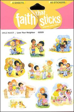 Love Your Neighbor Stickers (Faith That Sticks) | Main photo (Cover)