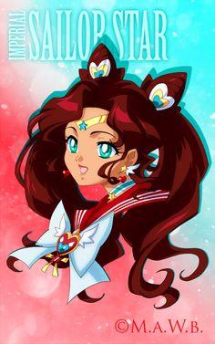 Imperial Sailor Star Bust by Drachea Rannak by ai-sanura on deviantART