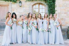 Photography: Luna de Mare    lunademarephotography.com Bridesmaids' Dresses: Amsale   http://amsale.com   View more: http://stylemepretty.com/vault/gallery/38301