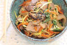 Korean Beef Noodle Bowl - Diablo Magazine - January 2013 - East Bay - California