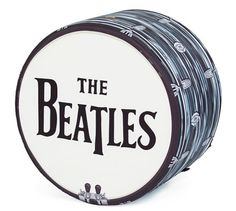 The Beatles Drum beanbag by Woouf