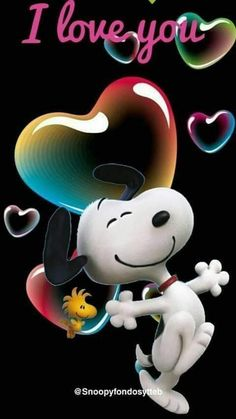 Snoopy and Woodstock Snoopy Love, Woodstock Snoopy, Happy Snoopy, Snoopy Cartoon, Peanuts Cartoon, Peanuts Snoopy, Snoopy Images, Snoopy Pictures, Charlie Brown Quotes