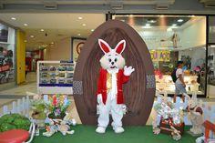 'Hoop – O Coelhinho da Páscoa' diverte a criançada no Santa Cruz Shopping | Jornalwebdigital