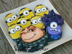 Minions & Gru Cookies