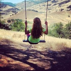 If you haven't hiked Reservoir Canyon, you should! There's a swing halfway up which makes for a great break and the scenery is amazing.