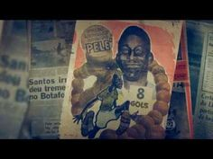 SANTOS 11 X 0 BOTAFOGO-SP 21/11/1964 - 8 gols de Pelé