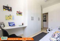 Apartamento decorado 2 dormitórios do Reserva do Japi no bairro Retiro - Jundiaí - SP - MRV Engenharia - Quarto Crianças