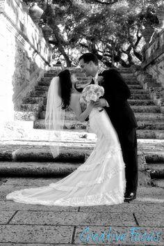 ©Creative Focus Photography, Wedding at Vizcaya  http://www.creativefocusinc.com/wedding.php