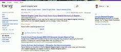 Bing is testing a new design for the search results layout. The new design seems a lot cleaner, fresher and more organized compared to the older design.