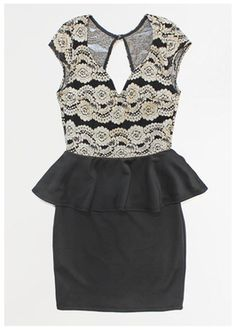Vestido Celine  #womensfashion #musthave #peplum #forher #giftguide #christmas #gifts #perfect