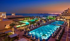 """The Rixos Bab Al Bahr is an ultra all-inclusive resort with an """"adults-only"""" section."""