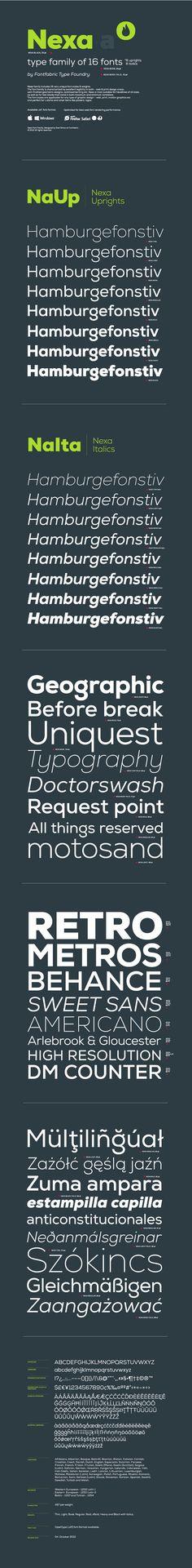 Free Fonts Download – Nexa