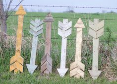 Wood Arrow by TheHouseofBelonging on Etsy, $50.00