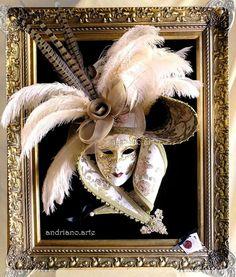 Donna con Capello!! andriano.arte handmade
