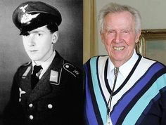 Just learned that Theo Nau, one of the Luftwaffe's youngest fighter pilots in WW2 has passed away. HORRIDO Theo!