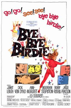 Bye Bye Birdie Movie Poster - 1963  from Roger Wilkerson, The Suburban Legend!
