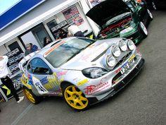 Ford Puma Rally Car
