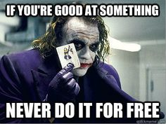 I actually thought it was excellent advice - Actual Advice Joker - Imgur